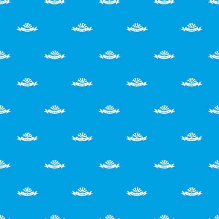 China restaurant pattern vector seamless blue
