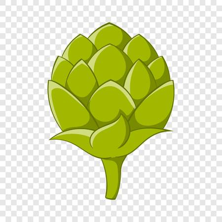 Seeds hops icon, cartoon style Banque d'images - 118511286