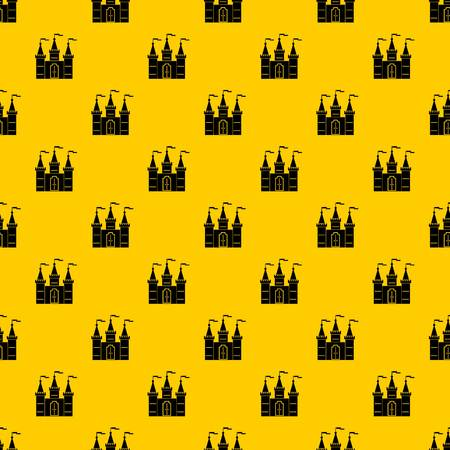 Castle pattern vector