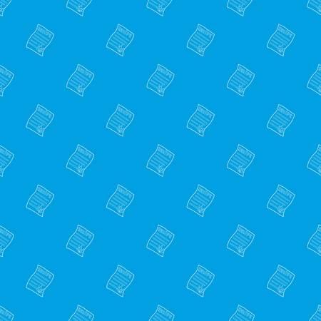 Marijuana recipe pattern vector seamless blue repeat for any use