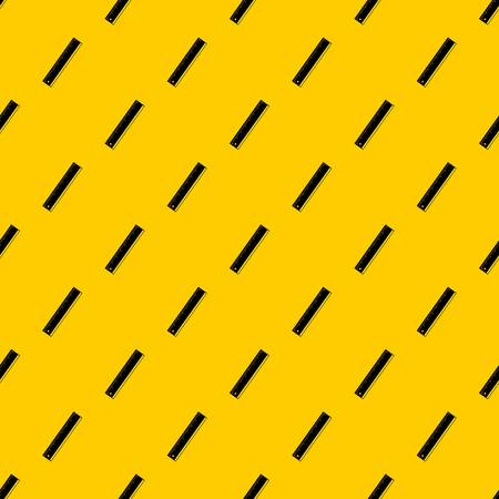 Yardstick pattern seamless vector repeat geometric yellow for any design