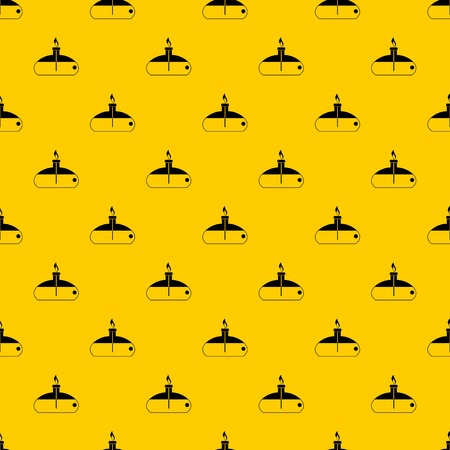 Spiritlamp pattern seamless vector repeat geometric yellow for any design