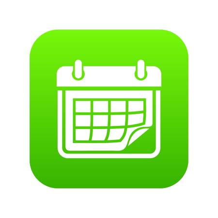Planner icon, simple style