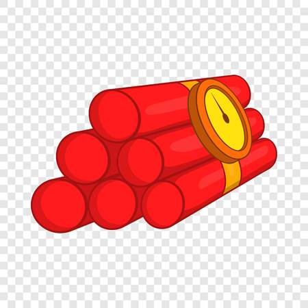 Dynamite icon, cartoon style