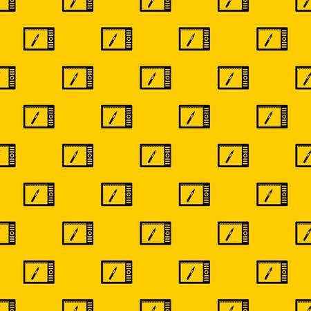 Graphics tablet pattern vector Illustration