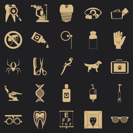Relatives icons set. Simple set of 25 relatives vector icons for web for any design