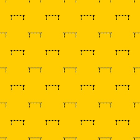 Striped barrier pattern vector Vectores