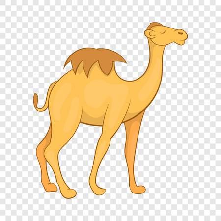 Camel icon, cartoon style