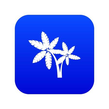 Palma icon digital blue