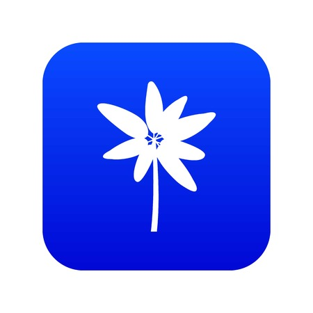 Long palm icon digital blue Stock fotó - 119029662