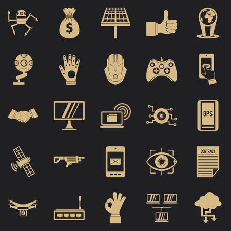 Tomorrow icons set. Simple set of 25 tomorrow vector icons for web for any design
