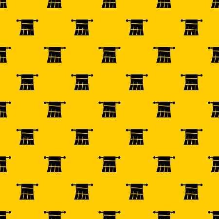 Towel on a hanger pattern seamless vector repeat geometric yellow for any design