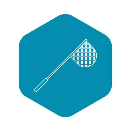 Net for fishing icon. Outline illustration of net for fishing vector icon for web 스톡 콘텐츠 - 124297593