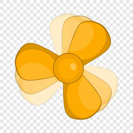 Car fan icon in cartoon style on a background for any web design