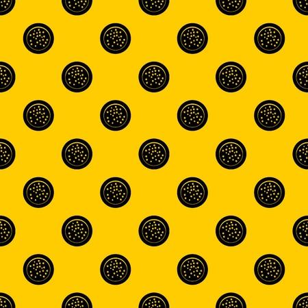 Peppercorns on a plate pattern vector Ilustração
