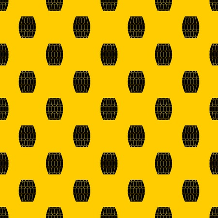 Barrel pattern seamless vector repeat geometric yellow for any design