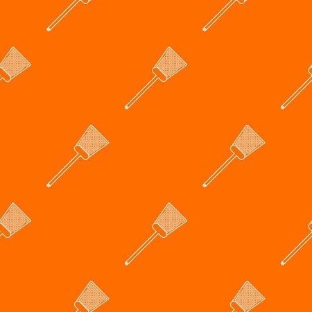 Swatter pattern vector orange for any web design best Stock Vector - 119482196