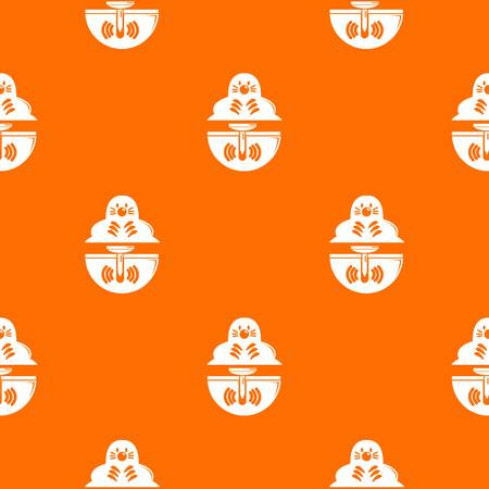 Mole pattern vector orange for any web design best