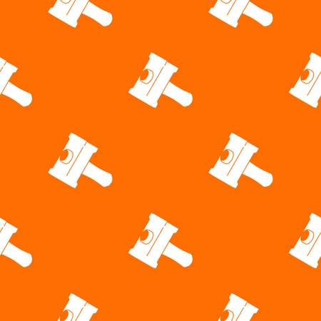 Big sledgehammer pattern vector orange for any web design best