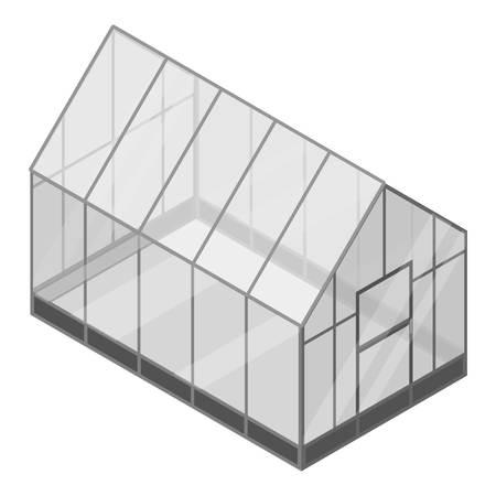 Huis kas pictogram. Isometrisch van huis kas vector pictogram voor webdesign geïsoleerd op een witte achtergrond Vector Illustratie