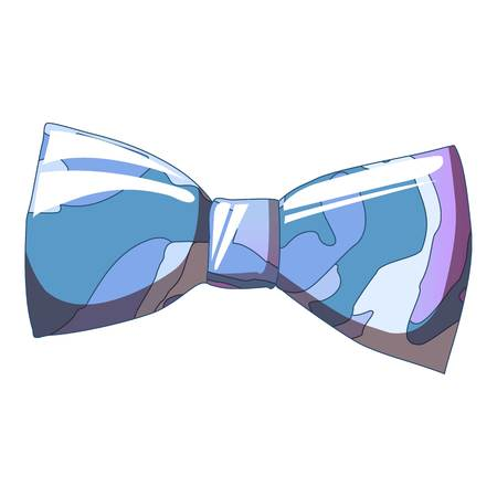 Bow tie icon. Cartoon of bow tie vector icon for web design isolated on white background