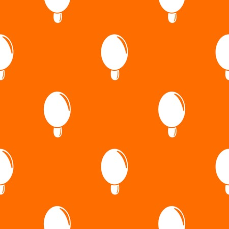 Circle ice cream pattern vector orange for any web design best