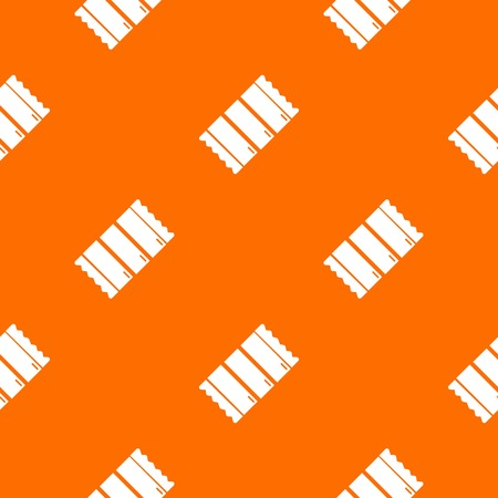 Chocolate pattern vector orange for any web design best Vettoriali