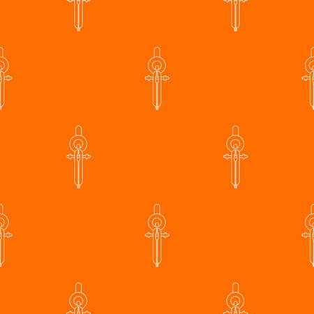 Compass pattern vector orange for any web design best