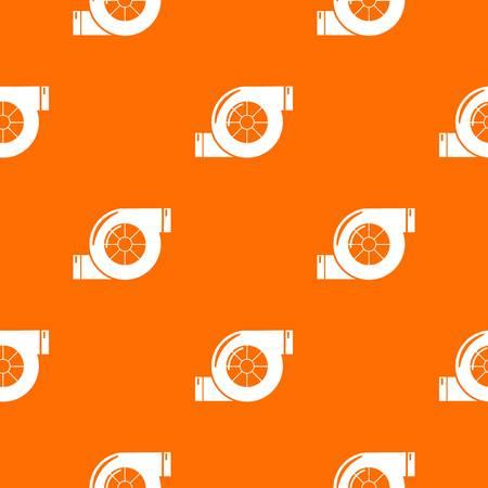 Air filter pattern vector orange for any web design best