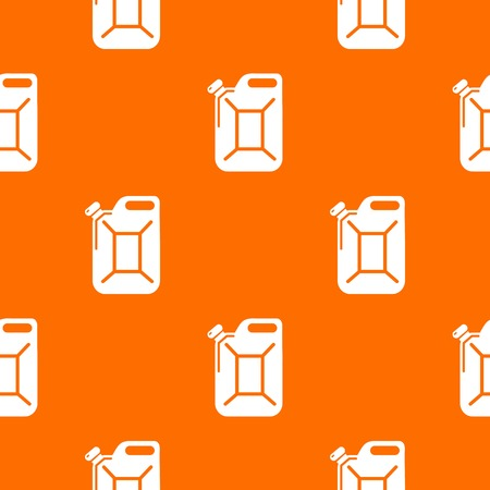 Canister pattern vector orange