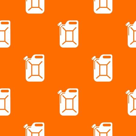 Canister pattern vector orange