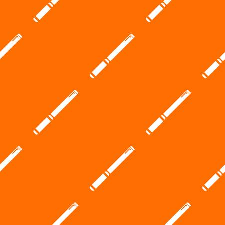 Pipe pattern vector orange for any web design best