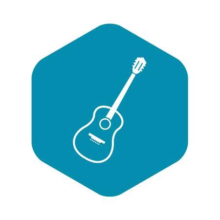 Charango icon. Simple illustration of charango vector icon for web