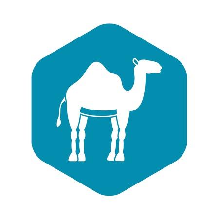 Camel icon. Simple illustration of camel vector icon for web Illusztráció
