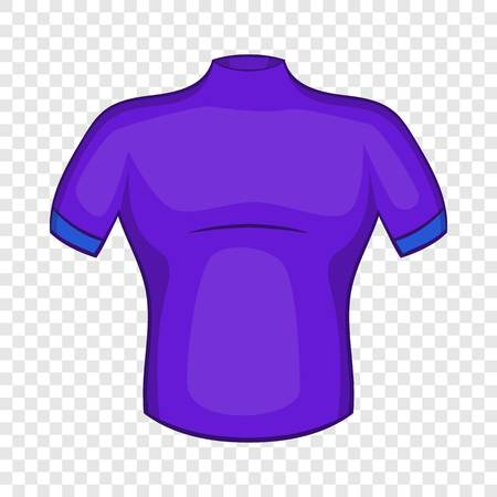 Cycling shirt icon in cartoon style isolated on background for any web design