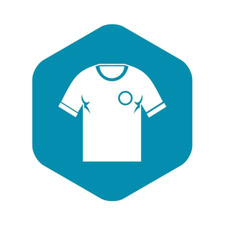 Soccer shirt icon. Simple illustration of soccer shirt vector icon for web