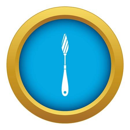 Scraper icon blue vector isolated Фото со стока - 122241463