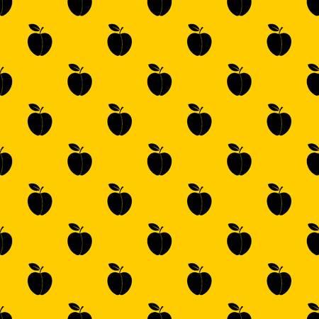 Apple pattern vector Reklamní fotografie - 122241631