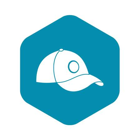 Cap icon. Simple illustration of cap vector icon for web