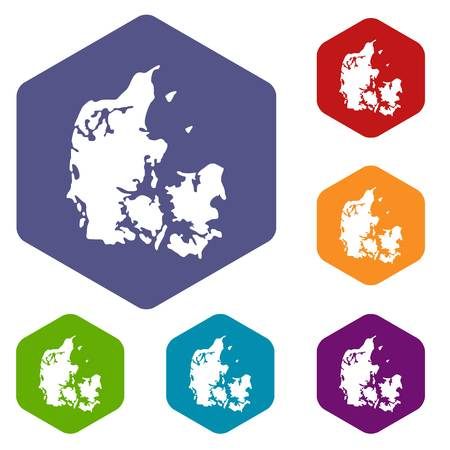Holland icons vector hexahedron