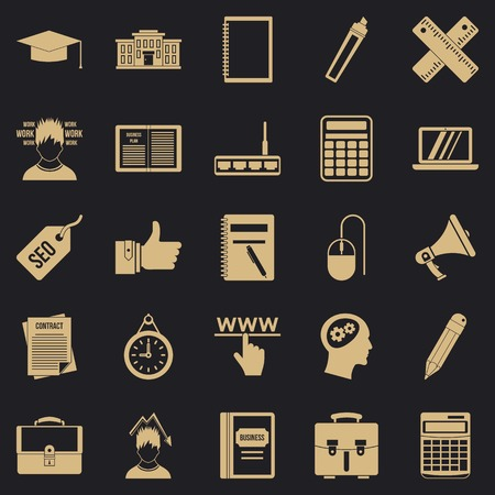 Lombard icons set. Simple set of 25 lombard vector icons for web for any design