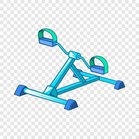 Gym equipment icon. Cartoon illustration of gym equipment vector icon for web.