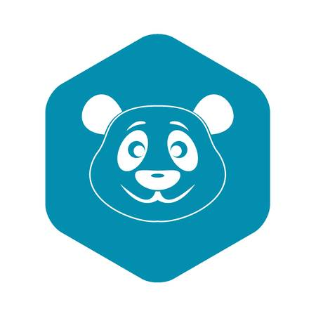 Panda icon. Simple illustration of panda vector icon for web