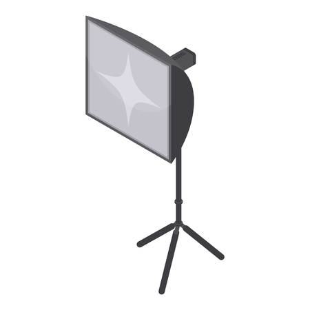 Studio soft box light icon. Isometric of studio soft box light vector icon for web design isolated on white background