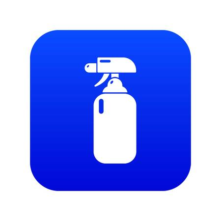 Fire extinguisher icon blue vector