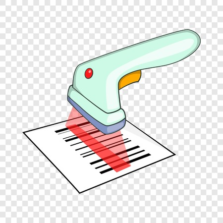 Scanner icon. Isometric illustration of scanner vector icon for web Illustration