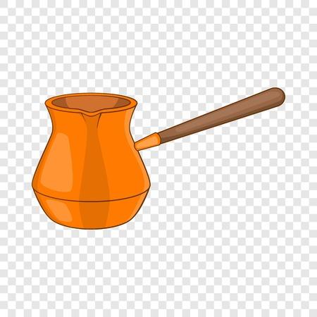 Ikona Dżezwa. Ilustracja kreskówka ikony wektora cezve do projektowania stron internetowych
