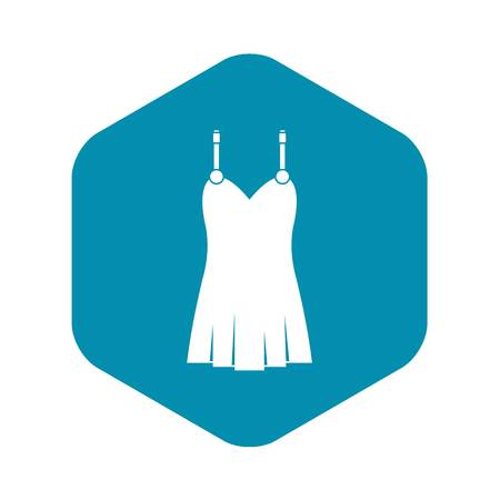 Nightdress icon. Simple illustration of nightdress vector icon for web