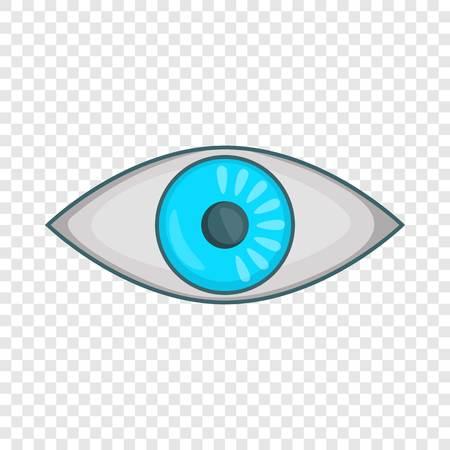 Eye icon. Cartoon illustration of eye vector icon for web design Çizim