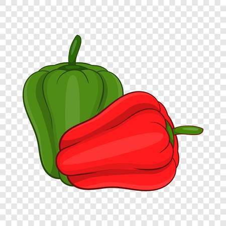 Paprika icon. Cartoon illustration of paprica vector icon for web design